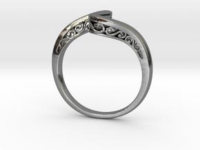 Journeyer Ring Cadiaan in Premium Silver