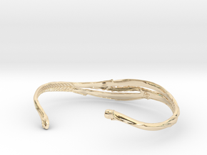 Organic Bracelet in 14K Yellow Gold
