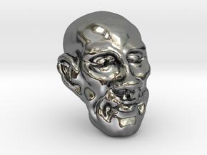 Earl in Fine Detail Polished Silver