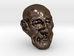 Earl in Polished Bronze Steel