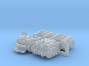 Mule Ammunition Tractor (Alternate Set) in Smooth Fine Detail Plastic