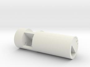Arcann Lightsaber - Chamber in White Natural Versatile Plastic