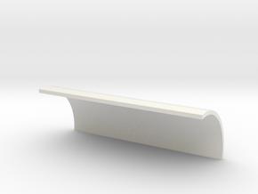 Arcann Lightsaber - Chamber Cover in White Natural Versatile Plastic