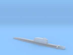 Golf-Class Ballistic Submarine, 1/2400 in Smooth Fine Detail Plastic