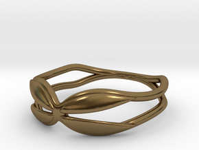 Holding  Ring (Size 4.5--14.8mm dia)R S1 0202005 in Polished Bronze