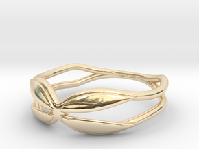 Holding  Ring (Size 4.5--14.8mm dia)R S1 0202005 in 14k Gold Plated Brass