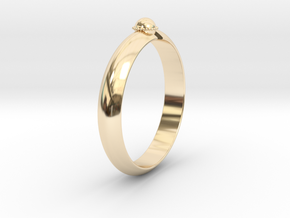 Ø18.19 mm /Ø0.716 inch Arrow Ring Style 2 in 14K Yellow Gold