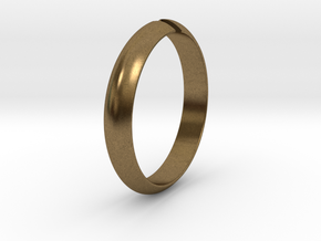 Ø18.19 mm /Ø0.716 inch Arrow Ring Style 1 in Natural Bronze