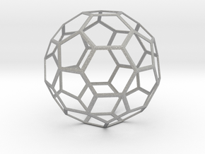 Truncated Icosahedron in Aluminum