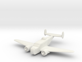 1/300 Beechcraft AT-11 (SNB-1) 'Kansan' in White Natural Versatile Plastic