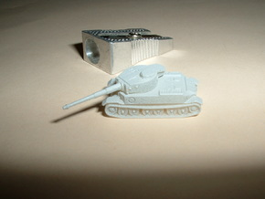 VK4501 Tiger Tank 1/285 6mm in Smooth Fine Detail Plastic