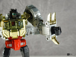 Transformers Masterpiece MP-08 Grimlock thumb x2 in Black Natural Versatile Plastic