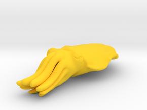 Cuttlefish in Yellow Processed Versatile Plastic