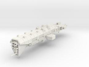EA Guided Missile Battlecruiser Large in White Strong & Flexible