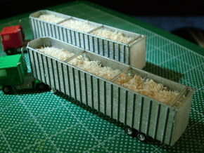 48 foot Woodchip Trailer 2 - Zscale in Frosted Ultra Detail