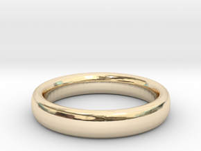 Simple Ring (Size 13) in 14K Yellow Gold