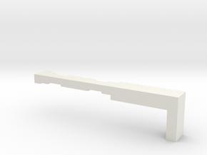 TTrak-Lay in White Natural Versatile Plastic
