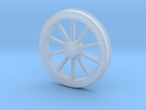 McKeen Driver Wheel In O Scale in Smooth Fine Detail Plastic