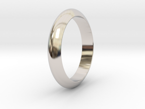 Ø21.87 Functional Design Ring Ø0.861 inch in Platinum