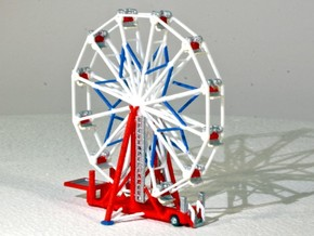 "Riesenrad ""Big Eli NY5"" - 1:220 / 1:160 / 1:87 in White Natural Versatile Plastic: 1:220"