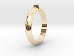 Ø21.87 Design Ring Ø0.861 inch in 14K Yellow Gold