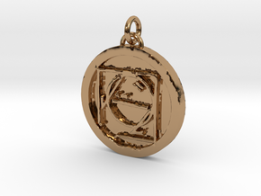 23S – IX ESCAPING DOCTRINE  in Polished Brass