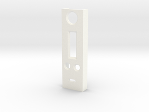 dna200 face plate in White Processed Versatile Plastic