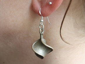 TTS earring 1 in Stainless Steel