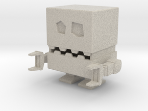 Robotico Miniature in Natural Sandstone