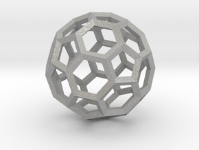 15cm Truncated Icosahedron-Archimedes09-Polyhedron in Aluminum