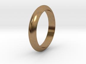 Ø23.06 Mm Functional Design Ring Ø0.907 Inch in Natural Brass