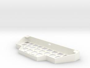 The Antares - Case in White Processed Versatile Plastic