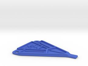 B5m Battery Strap in Blue Processed Versatile Plastic