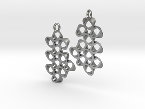 EARRINGS_Hyperloop_Small_Pair in Raw Silver
