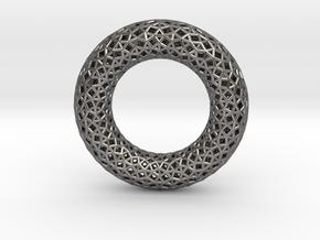 0481 Tilings [3,3,4,3,4] on Torus in Polished Nickel Steel