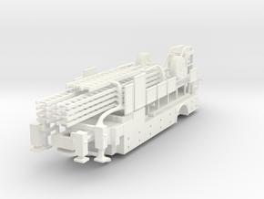 Philadelphia 1998-1999 LTI Tiller Body No Main 1/8 in White Processed Versatile Plastic