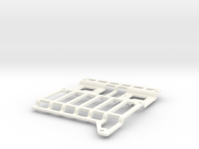 Amiga 3000 HDD Mount in White Processed Versatile Plastic