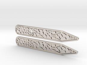 Voronoi Inverse Collar Straighteners X2  in Platinum