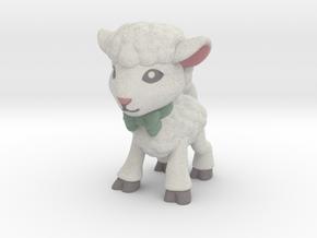 Spring Lamb - Full Color in Full Color Sandstone