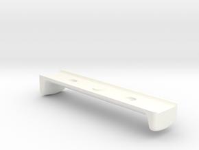 Standard Keymod Handstop in White Processed Versatile Plastic
