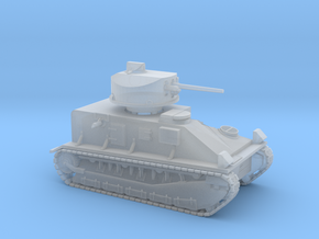 Vickers Medium Mk.II (1:200 scale) in Smooth Fine Detail Plastic