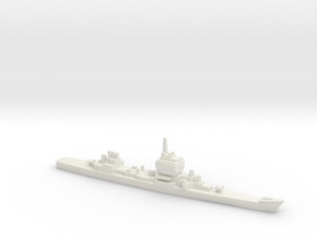 Long Beach, Double Telos Configuration, 1/3000 in White Natural Versatile Plastic