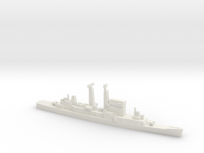 Albany-Class Cruiser w/ Polaris, 1/1800 in White Natural Versatile Plastic
