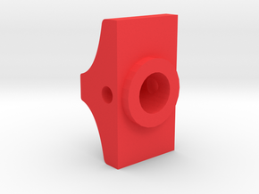 F-15 weapon/mode switch knob in Red Processed Versatile Plastic