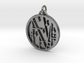PRINTS MONEY - THE SIGIL OF WEALTH AND HAVING in Fine Detail Polished Silver