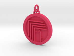 23S – XI FOR WORK TO GAIN PUBLIC AWARENESS  in Pink Processed Versatile Plastic