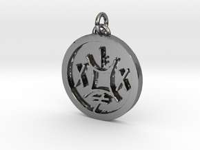 23S – XVI STOP THE APOLOGY REFLEX  in Fine Detail Polished Silver