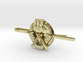 SGC Tie Clip in 18k Gold