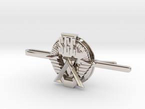 SGC Tie Clip in Platinum