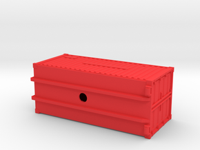 Oelwehr Container Schleswig-Holstein in 1:87 in Red Processed Versatile Plastic